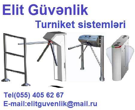 seller.az KeçiD Turniketlerin satişi