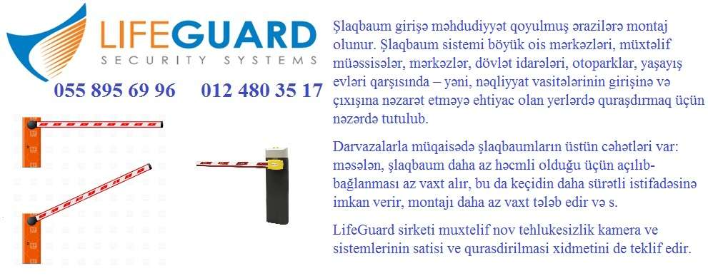 seller.az Şlaqbaum Arma Kontrol