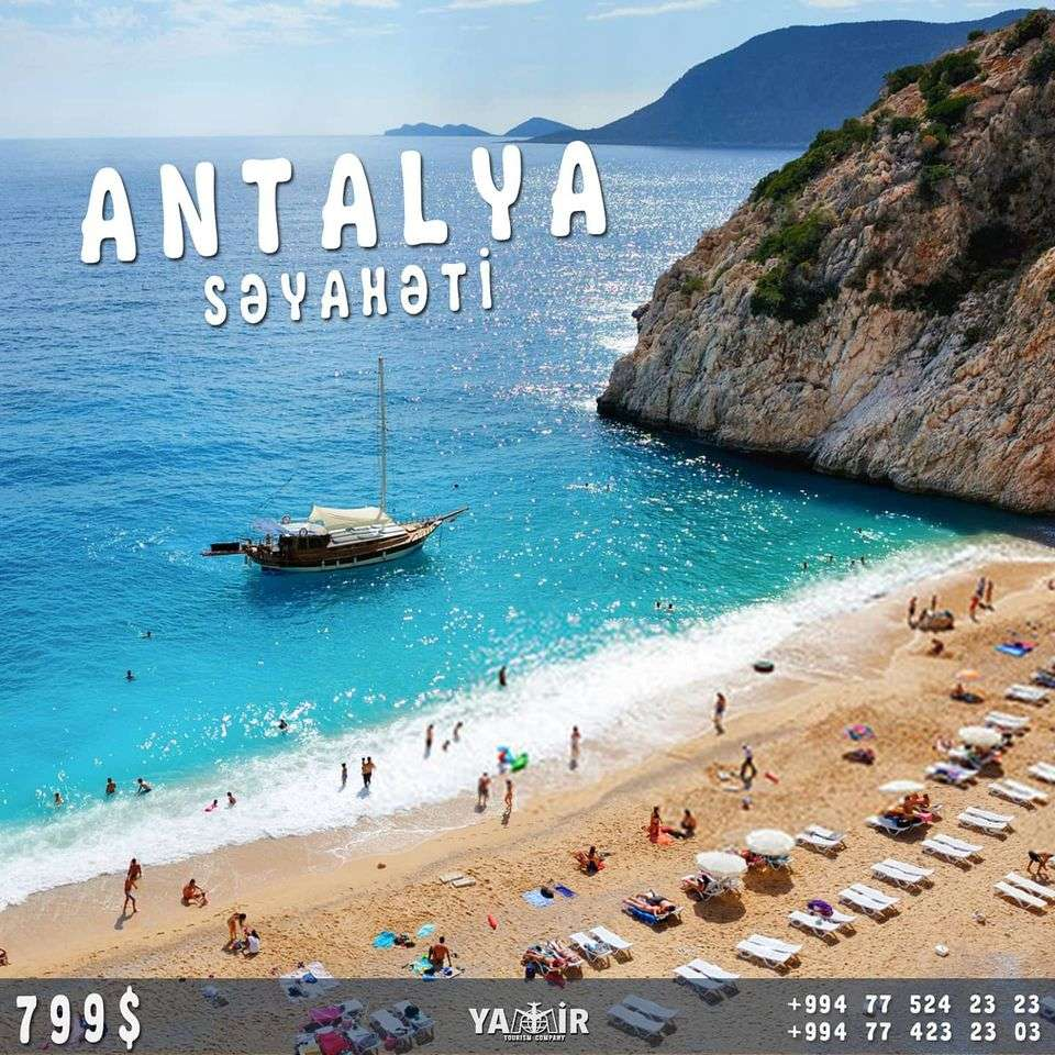 seller.az Hərşey Daxil Endirimli Antalya Səyahəti - Yamir Turizm Şirkəti