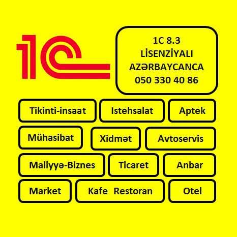 seller.az 1C 8.3 Lisenziyali Azerbaycan dilinde
