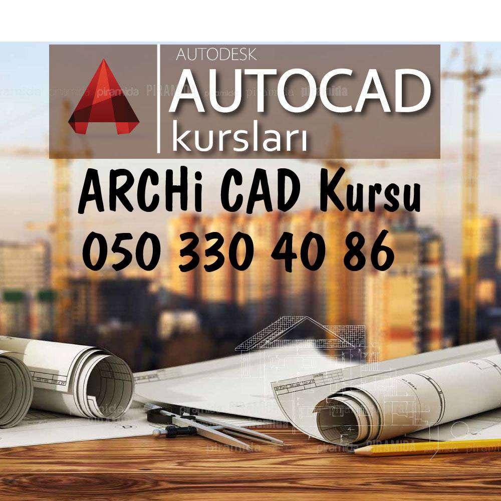 seller.az Autocad, Archicad kurslari