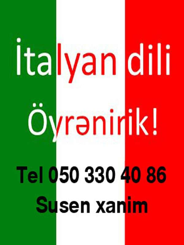 seller.az İtalyan dili kursu sıfırdan mükəmməl səviyyəyə