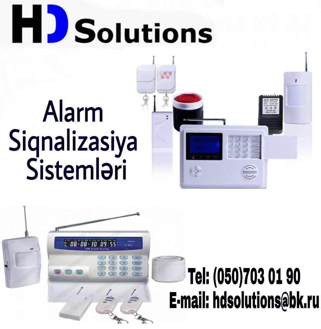 seller.az GSM Alarm sistemlərinin quraşdırılması