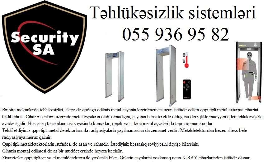 seller.az ❈Metal detektor: qapi tipli❈