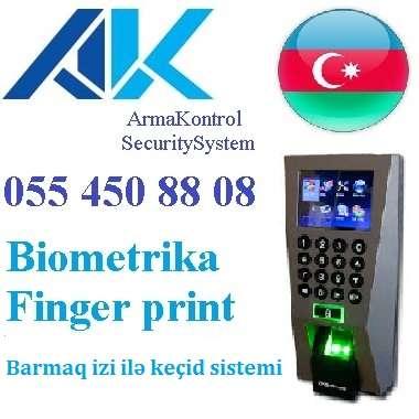 seller.az Finger print, card reader, face control