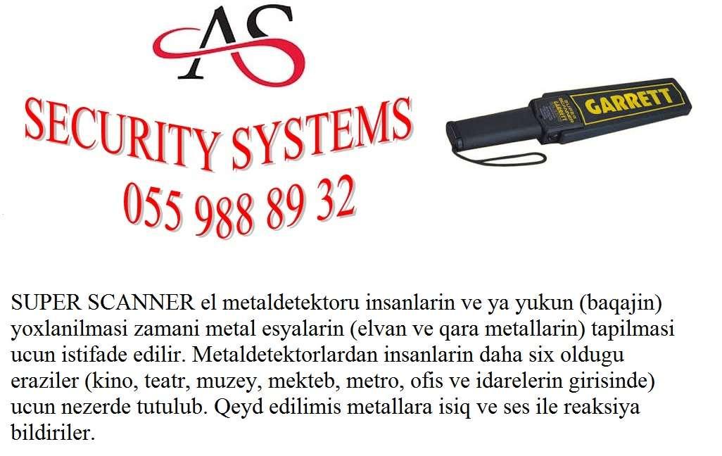 seller.az ❈Metal detektor: el tipli❈ 055 936 95 82❈