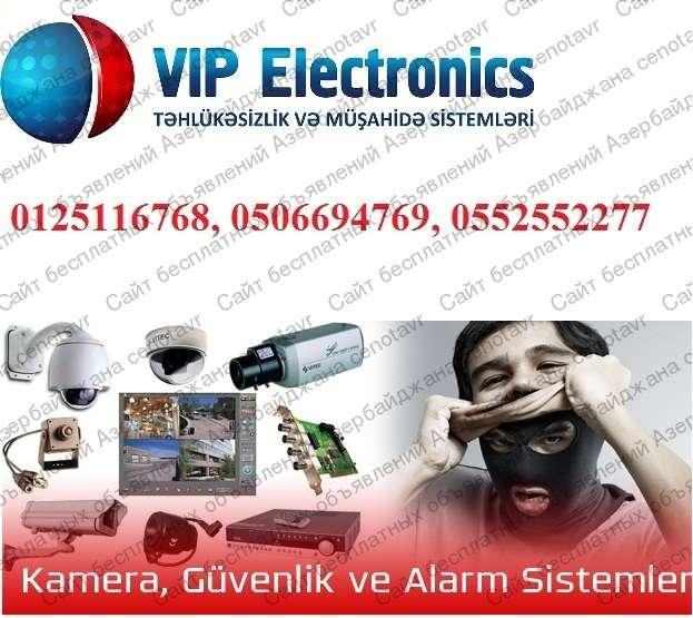 seller.az Analoq və HD kamera sistemləri