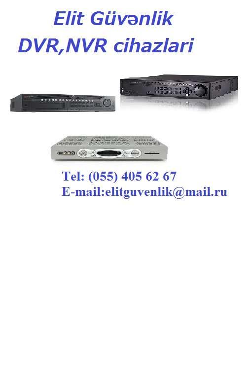 seller.az Hibrid XVR və DVR cihazin satişi