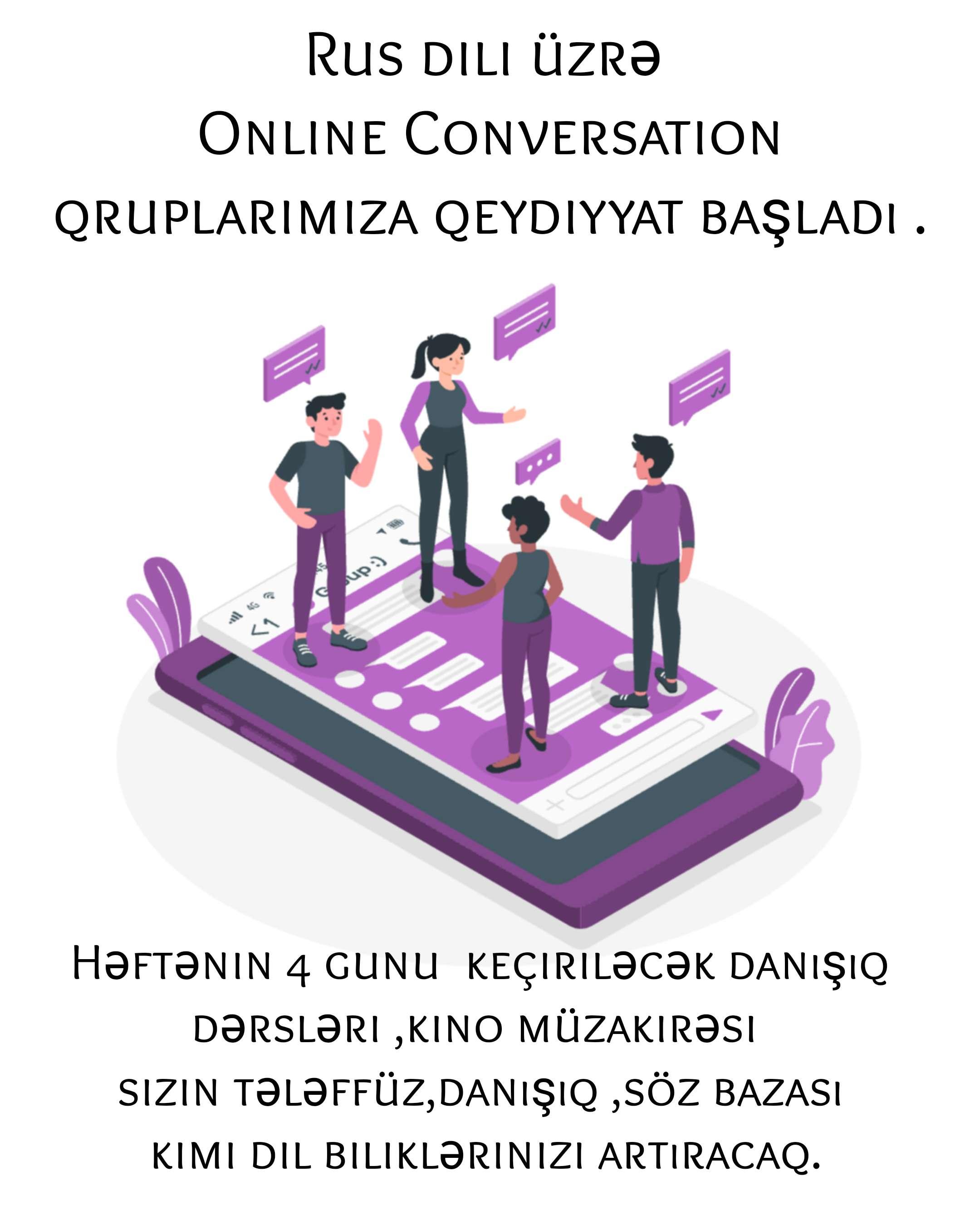 seller.az Rus dili conversation / Rus dili kursu / danisiq dersleri