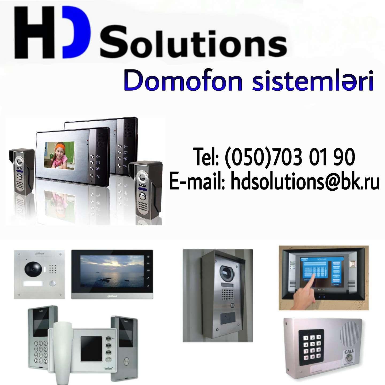 seller.az Video görüntülü domafon sistemleri