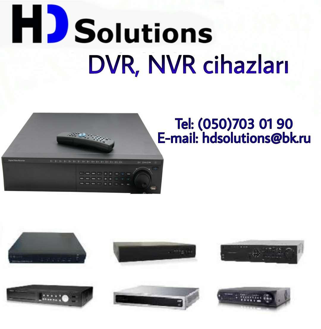 seller.az DVR və Hibrid XVR cihazları