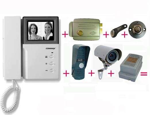 seller.az Domafon sistemləri, qapı telefonları