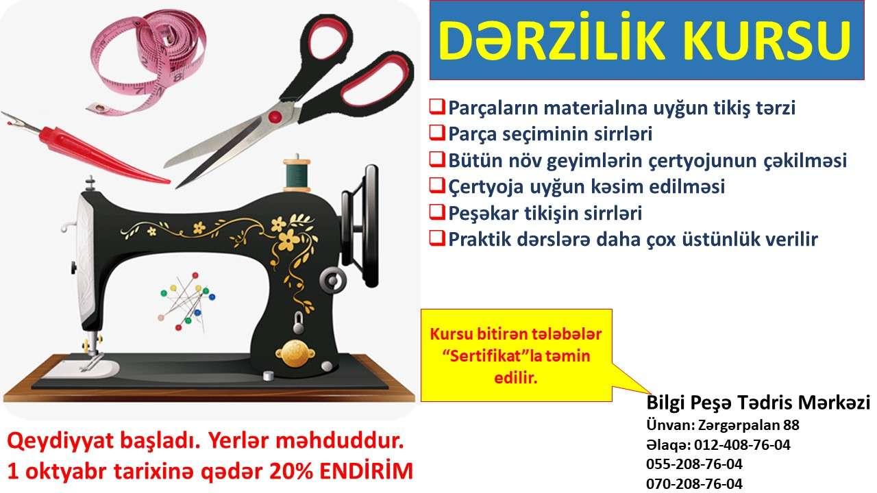 seller.az Dərzilik kursu