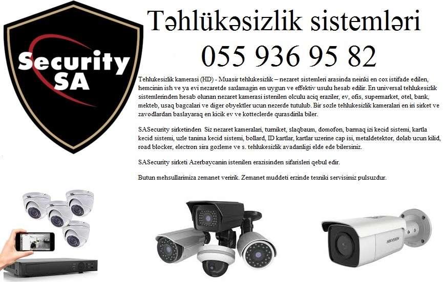 seller.az ❈Tehlukesizlik kameralarinin satisi ❈