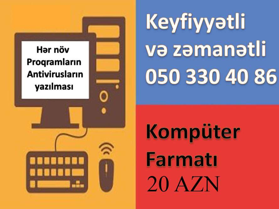 seller.az Kompüter Formatı Keyfiyyətli və Zemanetli