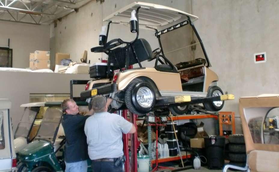 seller.az Golf carların texniki baxışı, golf maşınların təmiri.
