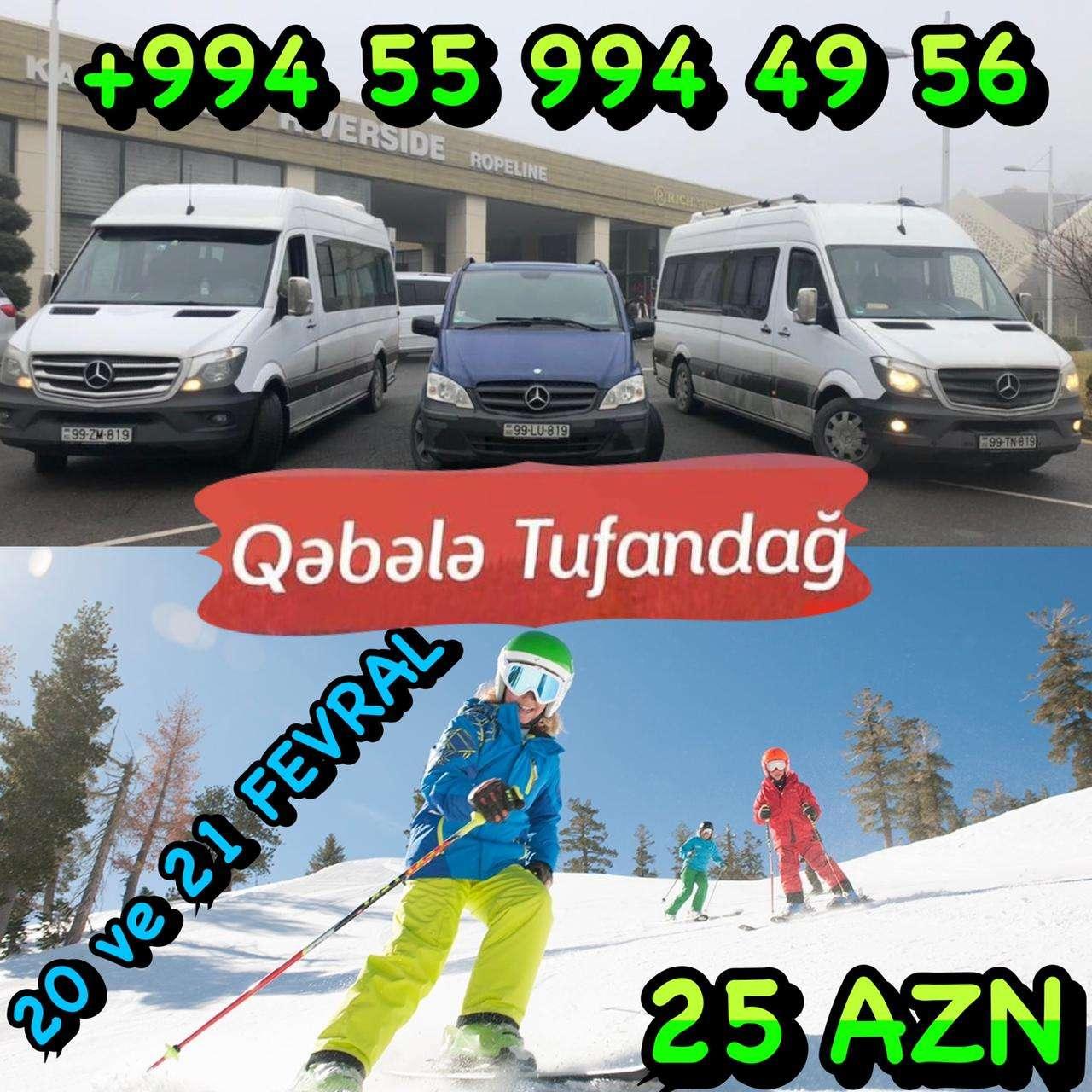 seller.az Qəbələ - Tufandağ Turu