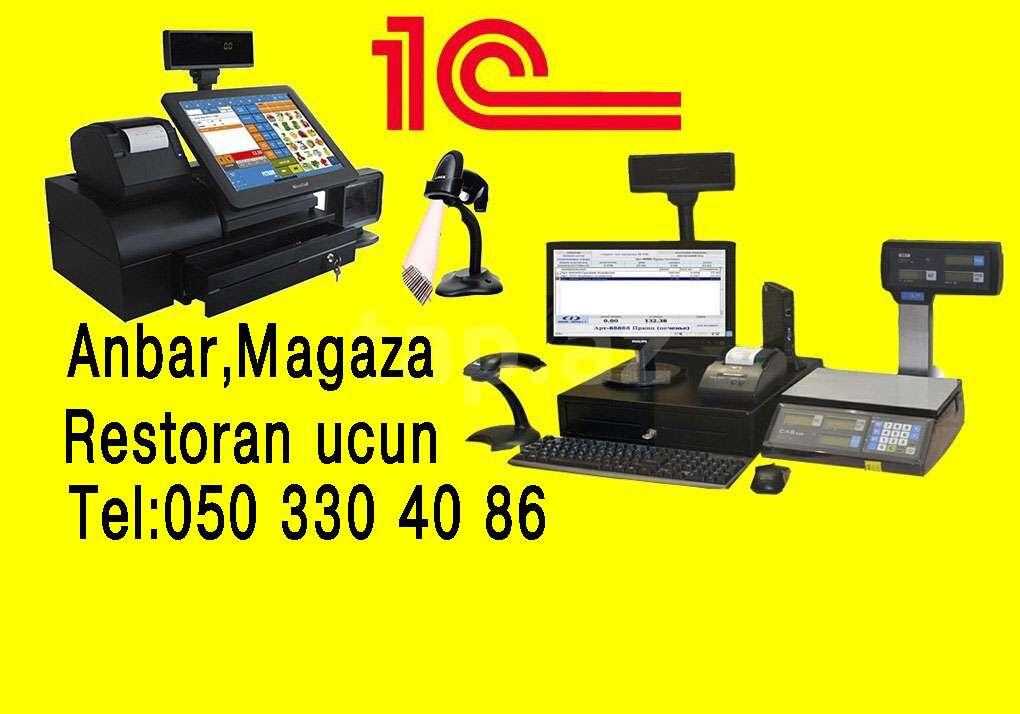 seller.az Lisenziyali 1C 8.3 Azerbaycanca