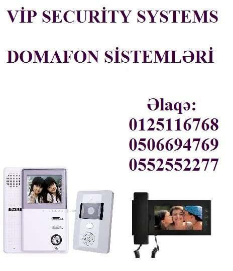 seller.az Domafon sistemlərin quraşdırılması